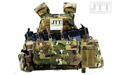 APC with chest rig attached