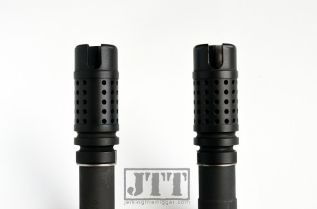 Griffin Armament M4SD II Flash Comp Comparison
