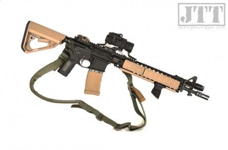 Exos Defense TI-7 KWIKGUARD on Carbine