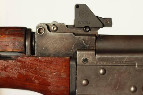 Shield Mini Sight Mount AK47 Mounted