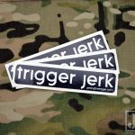Trigger Jerk Stock Sticker 3 Pack
