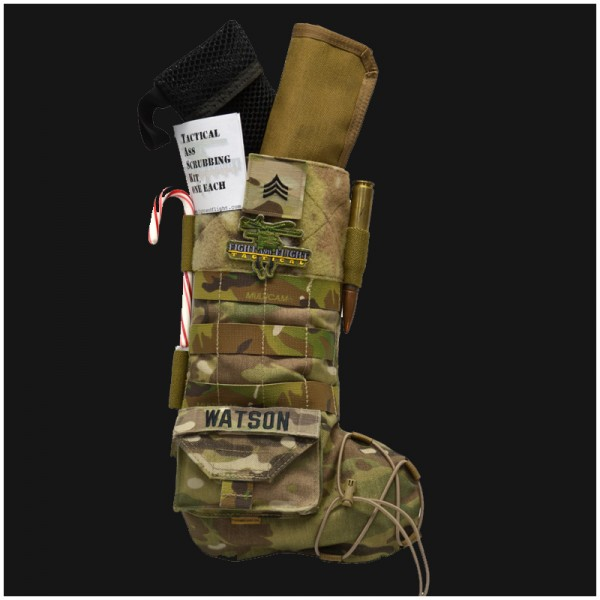Tactical Christmas Stocking.Fight And Flight Tactical Christmas Kitchen Sink Jerking