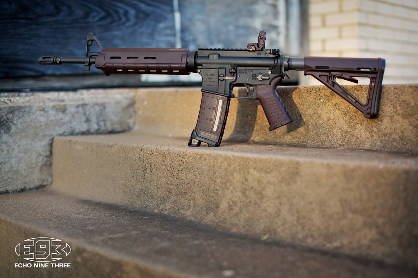The Plum AR Gets Its Name From The Custom Plum Color Magpul Furniture And  Accessories That Mimic The Purplish Hues Of The Famous Early Russian  Attempt At ...