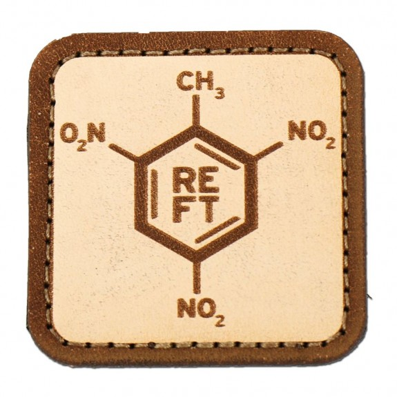 RE Factor leather patch