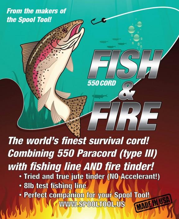 spool tool fish fire