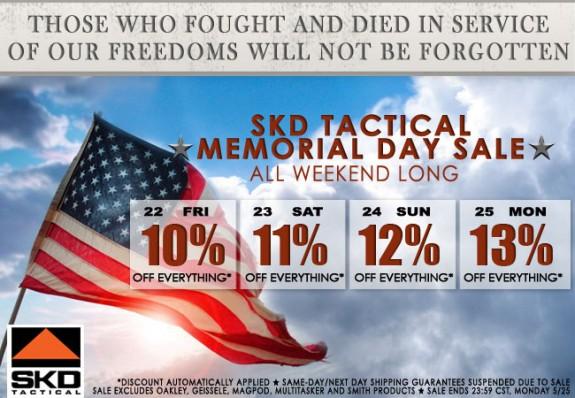 SKD Memorial Day