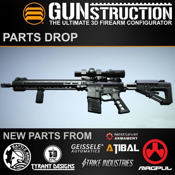 gunstruction parts drop 1