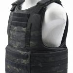 BALCS Cumber Body Armor Carrier Multicam Black left side angle