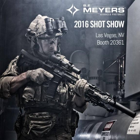 BE MEYERS SHOT SHOW