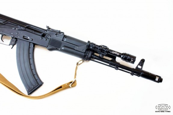 E93 MK65 with M600 Scout