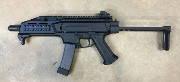 manticore arms scorpion evo slider stock