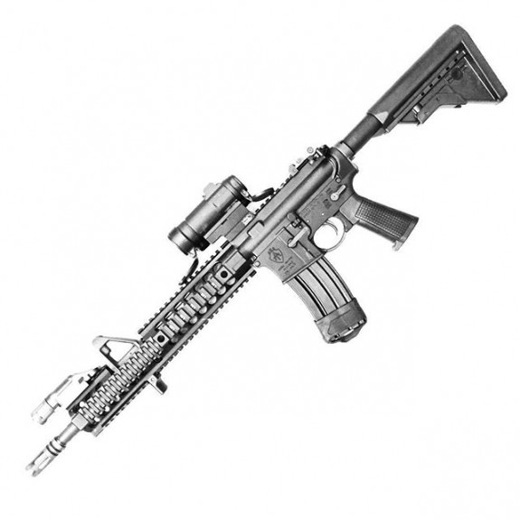 JTT carbine with griffin furniture