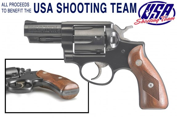 Ruger Speed Six 9mm USA Shooting