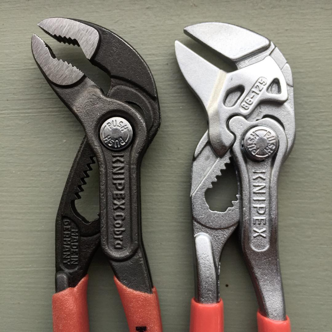 The Edc Tool Roll Knipex Pliers Wrench 86 03 125
