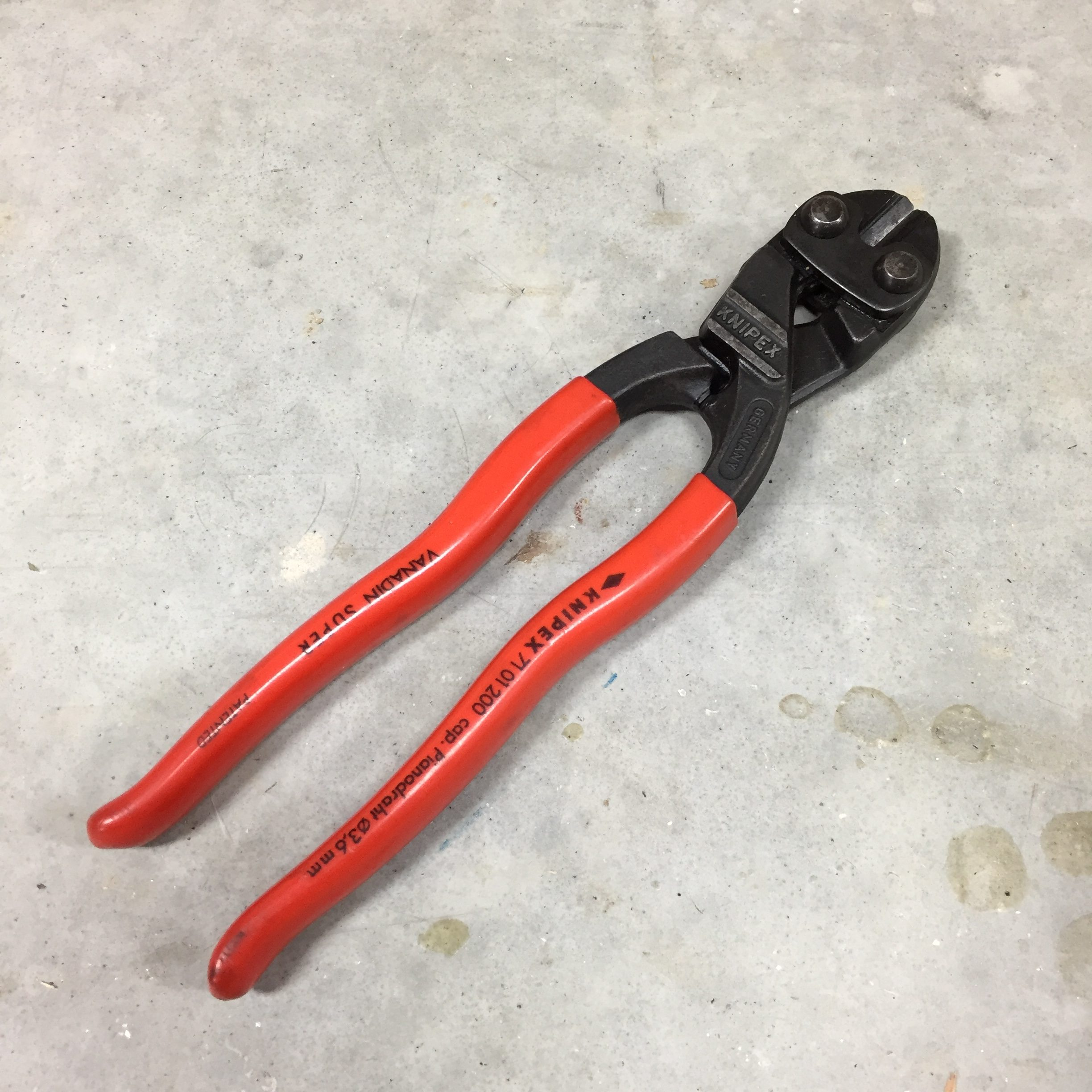 The EDC Tool Roll: Knipex CoBolt Cutters   Jerking the Trigger