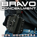 bravo concealment concealed carry kydex gun holster
