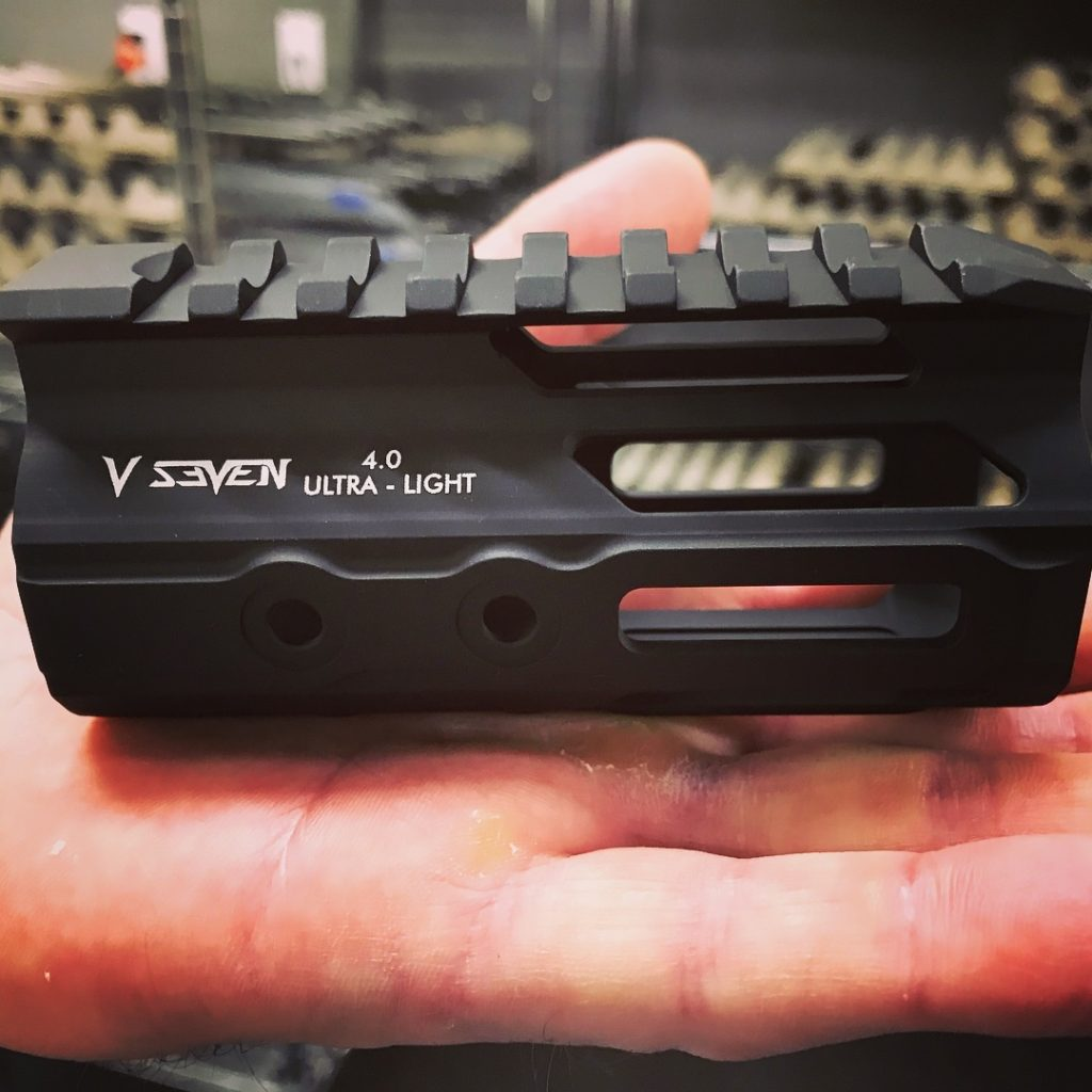 V Seven 4″ and 5 7″ 2099 Enlightened MLOK Handguards