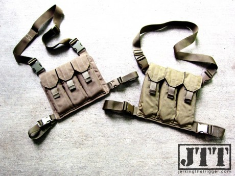 UW Gear Bandoleers for the AR (left) and AK (right)