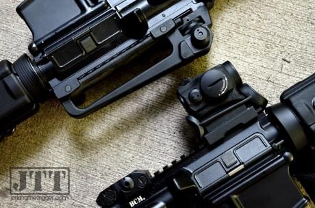 KISS Rifle Optic vs Irons