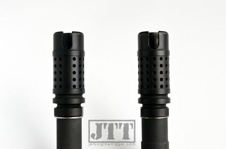 Griffin Armament M4SD II Flash Comp Comparison