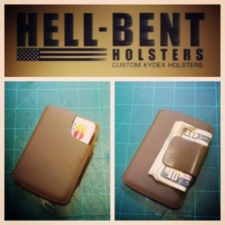 Hell-bent Holsters Combat Wallet 2