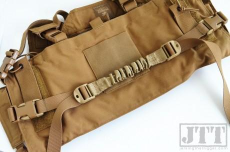 Down Range Gear Adjustable 1 Waist Strap Installed