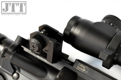 Dueck Defense Rapid Transition Sights Rear