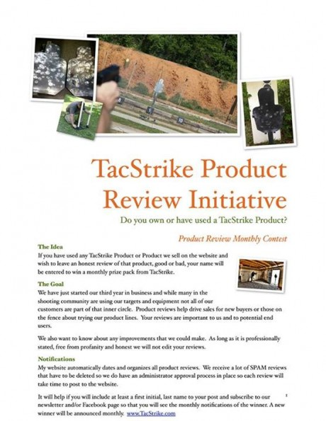 TacStrike Product Review