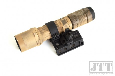 Unity Tactical FUSION with Flashlight Mount