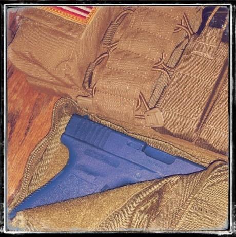 EGL DROPSACK Handgun Fast Access