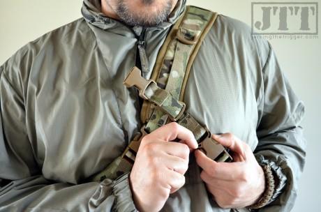 MSM Adapt Pack Worn with Stabilizer Strap