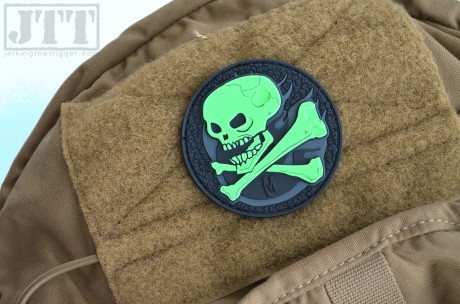 Maxpedition Glowing Skull Patch