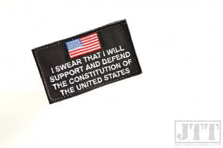 Citizen's Oath Patch