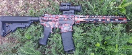 Double D Armory Camo Anodized Carbine