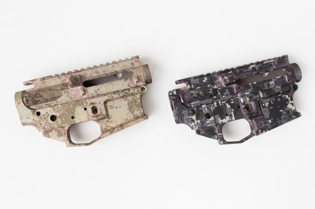 Double D Armory Camo Anodized Receivers