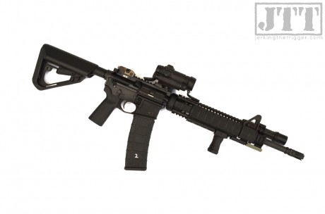 Exos Defense TI-7 KWIKGUARD on Carbine 2
