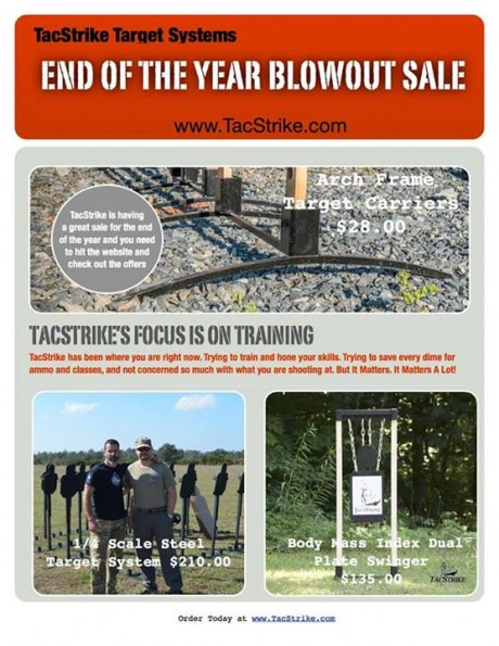 TacStrike End of the Year Blowout Sale