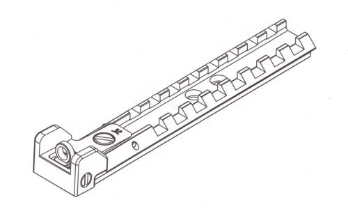 AIMPRO Tactical Ghost Ring Rail Line Art