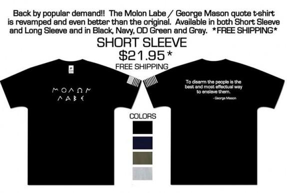 AR15Newscom Molon Labe Shirt