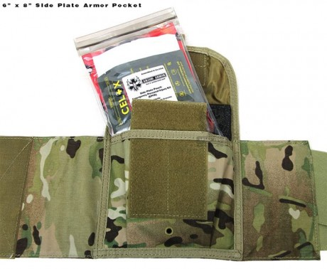 AR500 armor pack plate pocket