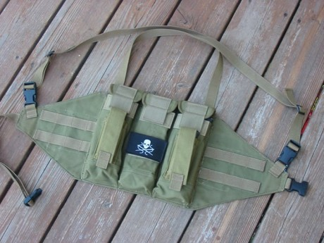 Another Chicom chest rig modernization