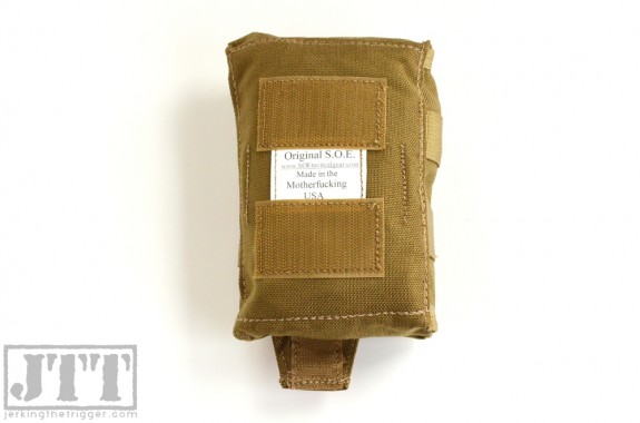 OSOE Compact Tear Off Med Pouch Back