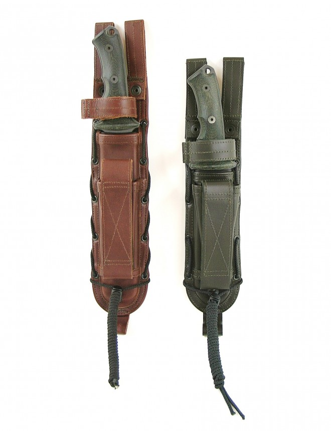 Spec Ops Brand Leather Combat Master Sheath