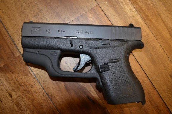 Glock 42 Crimson Trace