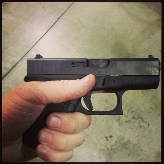 Glock 42 courtesy of SHTF Gear