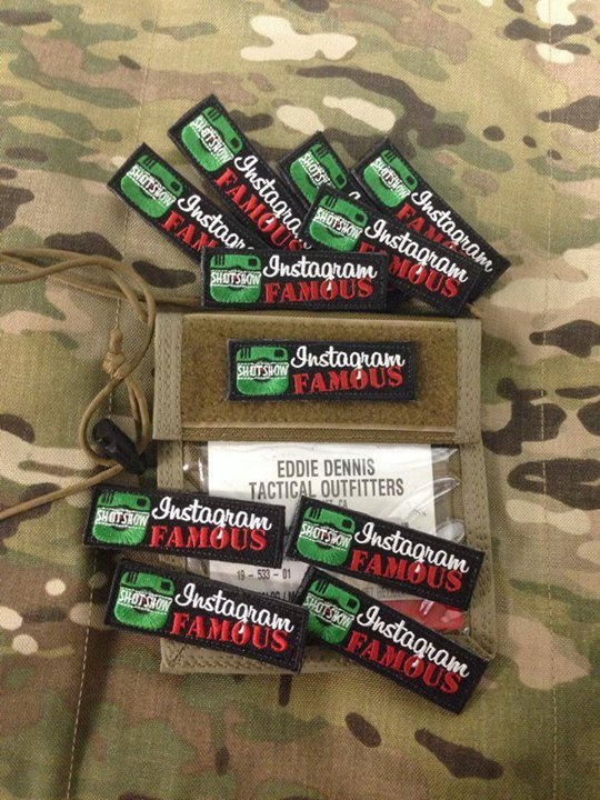 Tactical Outfitters Instagram Famous Patch