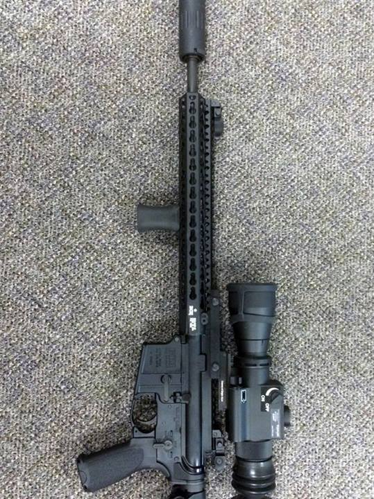 Unity Tactical direct VFG Mounted