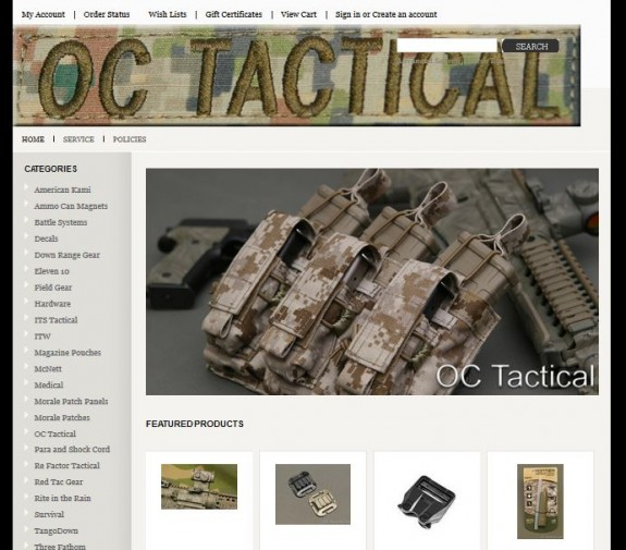 OC Tactical Store