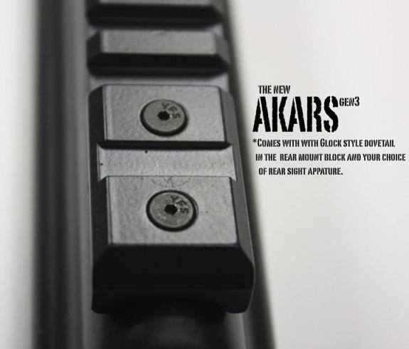 Parabellum Armament Co AKARS-Gen3 dovetail