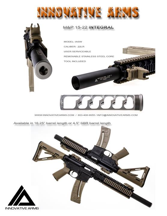 innovative arms 15-22 integral